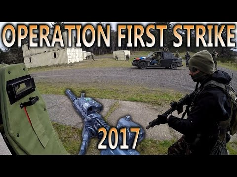 AIRSOFT MOVIE: OPERATION FIRST STRIKE