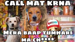 Dog Memes | Indian Couple Call Recording | Funny Dog Video | Call Prank | Robin Doge | #doge #cheems