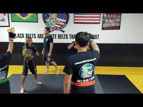 Teens Kick Boxing Drills 2