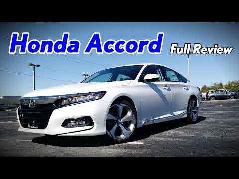 2018 Honda Accord: Full Review | Touring, Sport, EX-L, EX & LX