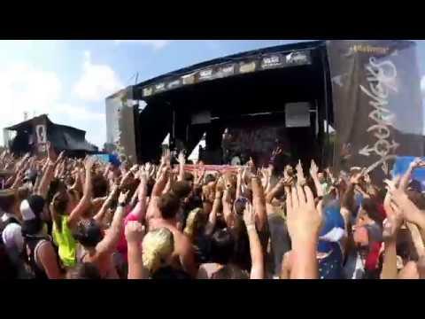 CINCINNATI  WARPED TOUR 2017| INSANE BANDS!