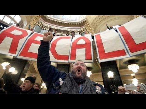 Wisconsin Recall and Dirty Right Wing Tricks