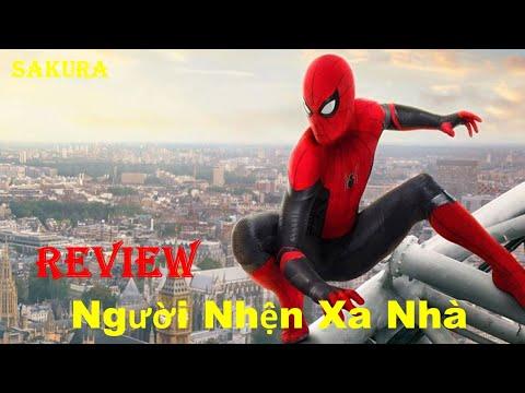 REVIEW PHIM NGƯỜI NHỆN XA NHÀ || SPIDER MAN: FAR FROM HOME || SAKURA REVIEW