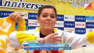 Adelina Sotnikova  Japan Open 2015 FS ソトニコワ 検索動画 10
