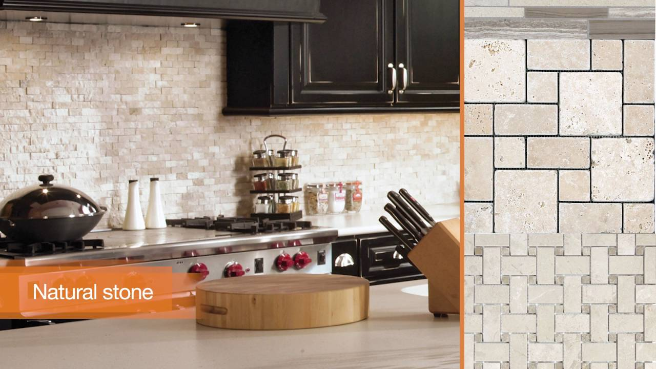 Choosing The Right Kitchen Backsplash