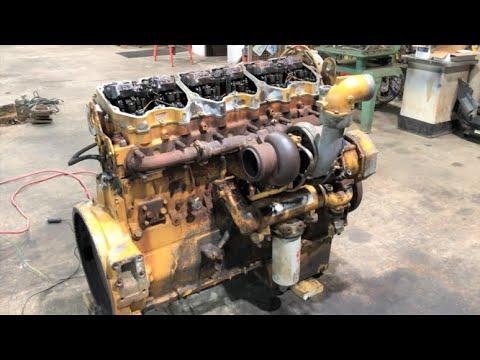 Bringing a Caterpillar 3406E 14 6 Liter Diesel Engine Back to Life