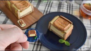 Real figur ミニチュア実体化 【チョイスの ベイクドチーズケーキ】