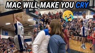 Did Mac McClung Score MORE Than The Other Team!? Emotional Senior Night!