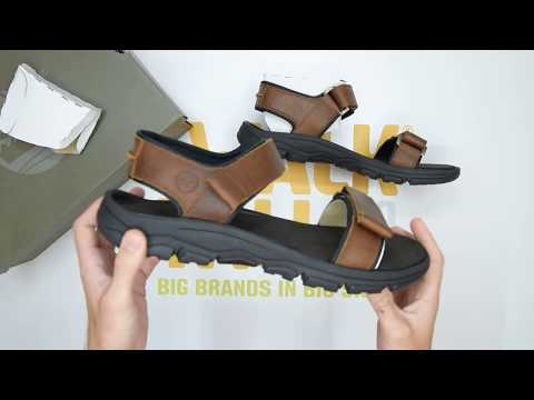 Timberland Roslindale 2 Strap - Wheat - Unboxing | Walktall