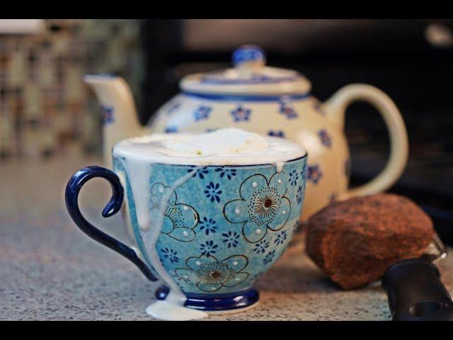 Festive Sorrel Infused Cocoa Tea (hot cocoa) | CaribbeanPot.com