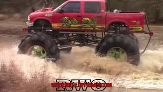 MUD TRUCKS RIDE DEEP - New Years Ride - River Run Offroad Park!