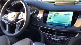 2018 cadillac CT6 Park Assist Demonstration
