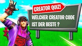 Wer ist der bessere Creator?   Fortnite Creator Quiz!