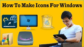 How To Make Icons For Windows 10 In Photoshop/GIMP-Online ICO Converter To Converter To PNG To ICO