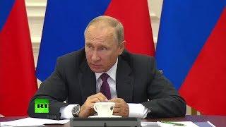 «Есть проблемы?»: Путин отчитал замминистра финансов за задержку перехода портовых тарифов на рубли