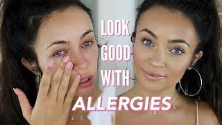 HOW TO LOOK GOOD W/ALLERGIES! Tips, Tricks, + Go-To Products | Stephanie Ledda