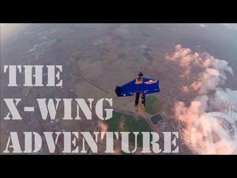 Advanced Human Flight ... The X-Wing Experience (A Rex Pemberton Flying Adventures)