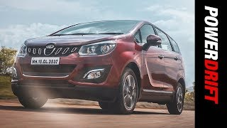 Mahindra Marazzo : Like never seen before 100% clickbait : PowerDrift