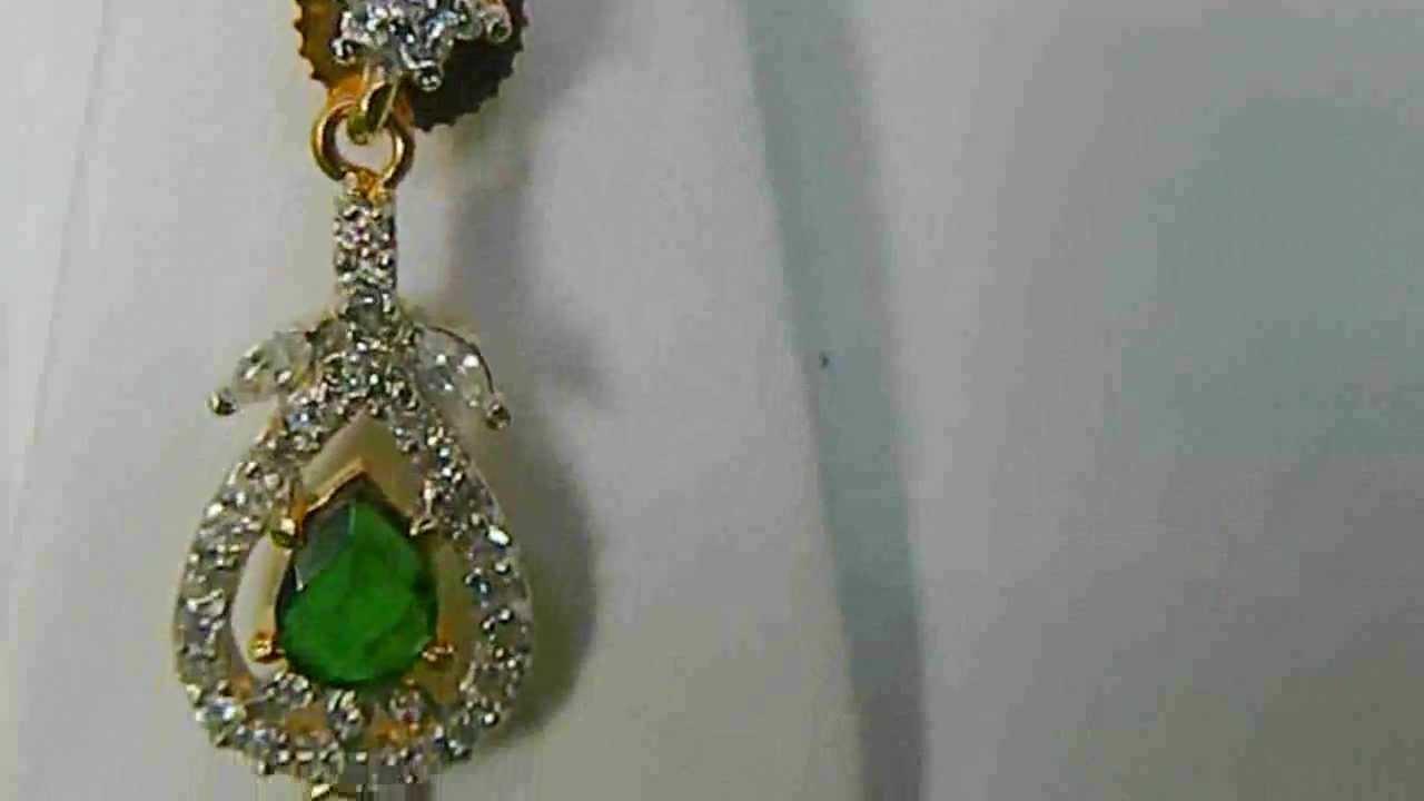 Designer Artificial Jewellery Set for wedding - YouTube