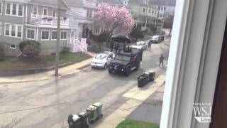 Police and FBI Comb Watertown for Bombing Suspect