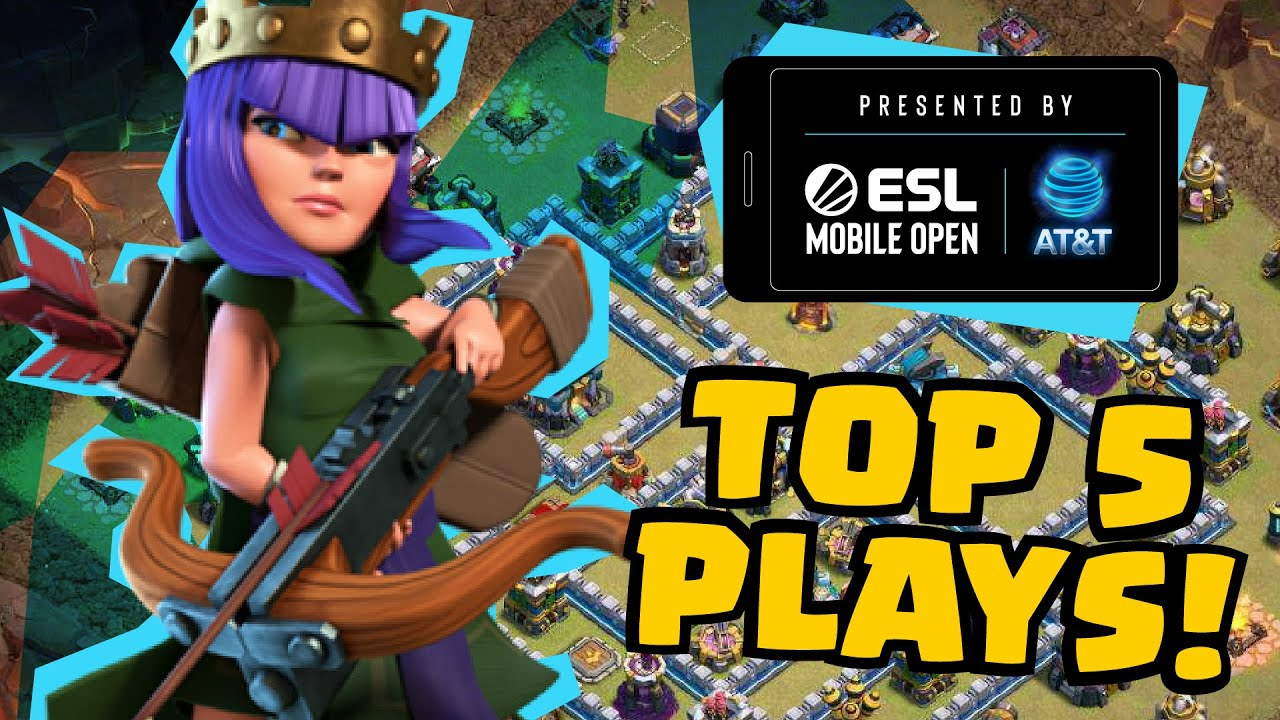 Top 5 Coolest Town Hall 13 Attacks! | ESL Mobile Open Season 5 Day 1 Clash of Clans