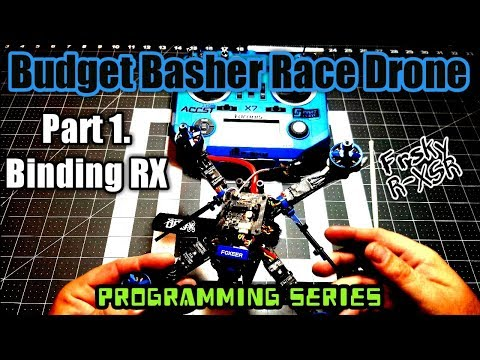 FrSky R-XSR Binding