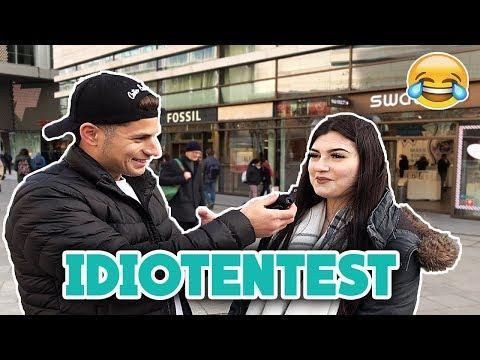 IDIOTENTEST IN FRANKFURT 😂 l Yavi TV