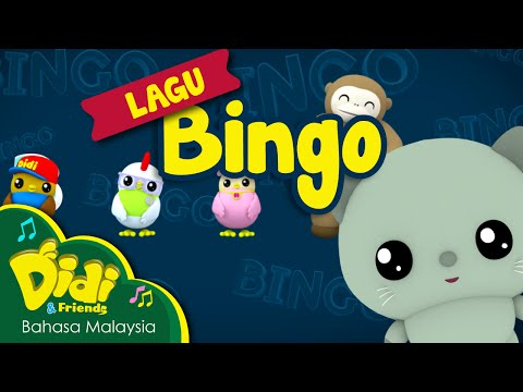 Lagu Kanak Kanak | BINGO | Didi & Friends