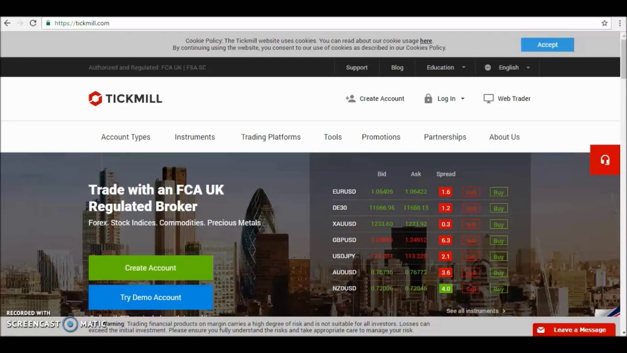 open forex trading account