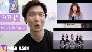 Dj Polique feat ATIYE & 9CANLI KALBIMIN FENDI REACTION!!! | TURKISH MV | KOREAN GUY REACTION