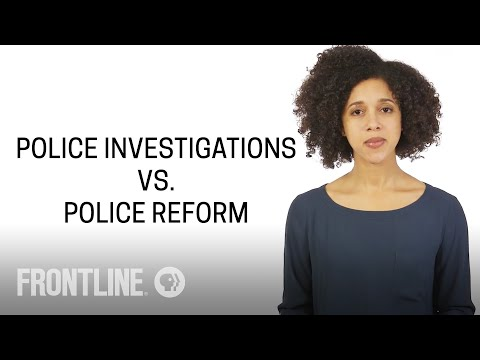 What's the Difference Between Police Investigations & Police Reform? | #AskFRONTLINE