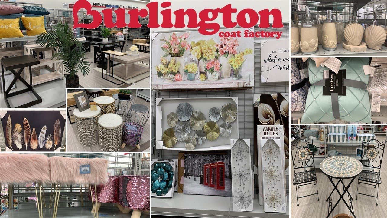 Burlington Furniture Home Decor Shop With Me May 2019 Youtube