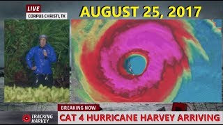 Weather Channel: Hurricane Harvey Landfall [2017]