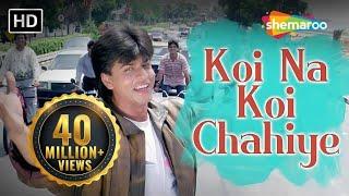Download Koi Na Koi Chahiye Pyar Karne Wala (HD) | Deewana Song | Shahrukh Khan | Filmigaane Mp3 and Videos