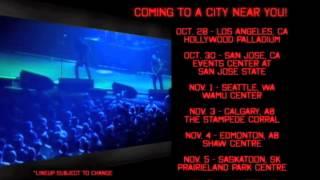 SLAYER NORTH AMERICAN TOUR 2013