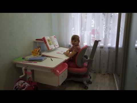 Кресло школьнику Onyx Duo от 115 до 185 +чехол+парта EVO-40 120*70 см +ящик,пенал,полочка!