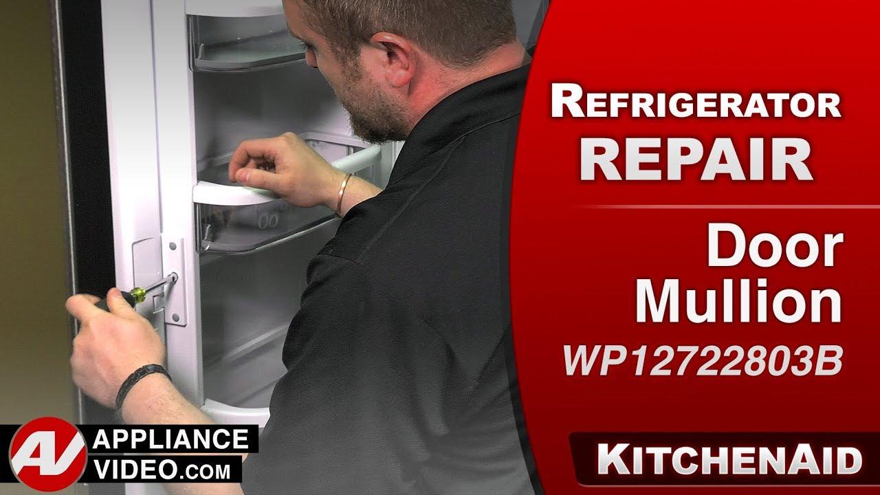 Kitchenaid Kenmore Refrigerator Door Mullion Heater Diagnostic Repair Youtube