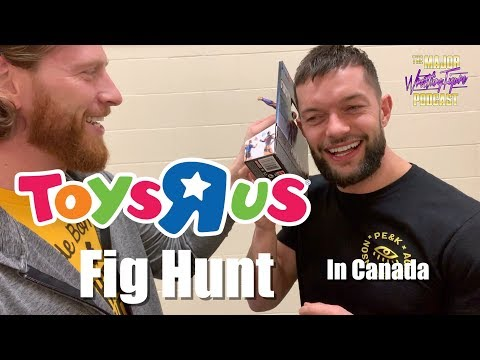 Toys R Us Fig Hunt In Canada! (Finn Balor)