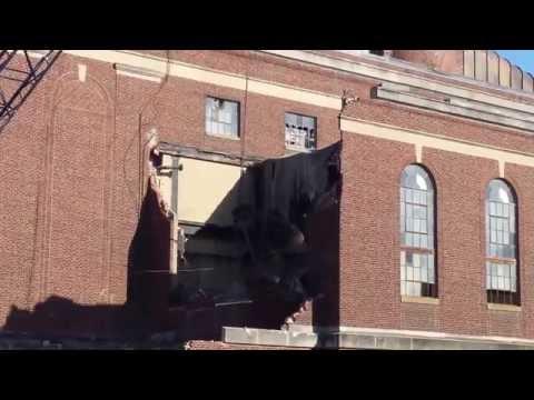 ENAD Wrecking Ball/Crane Demolition - Purdue University 9/25/14