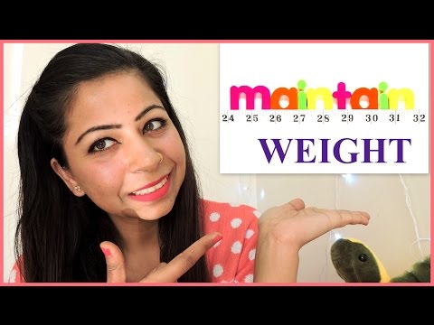 How To Maintain Your Ideal Weight Without Exercise   Post Weight Loss Tips