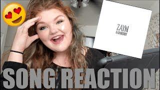 RAINBERRY - ZAYN REACTION   Alyssa Reacts Video