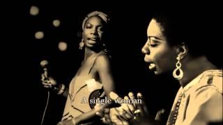 Nina Simone - A Single Woman (with lyrics)