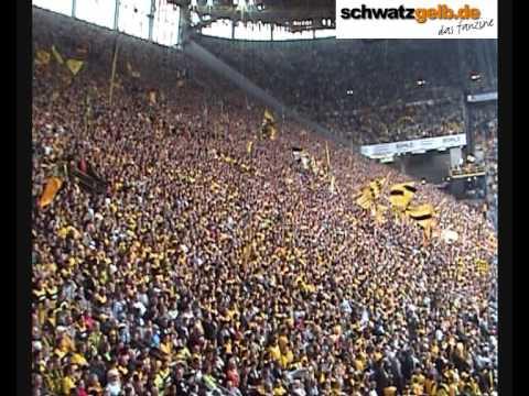 BVB vs KSC Stimmung Fans Part 1 of 3 - Borussia Dortmund - Karlsruher SC 4:0