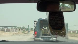 Over Loaded Mini Bus Sukkur Pakistan