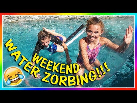WEEKEND WATER ZORBING! | We Are The Davises