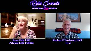 Interview with Reiki Currents Talk Show