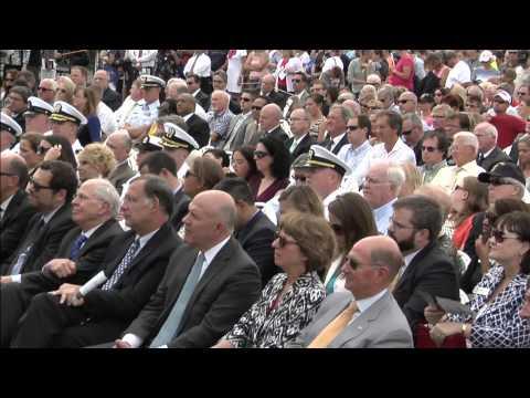 Navy Christens Future USS Little Rock