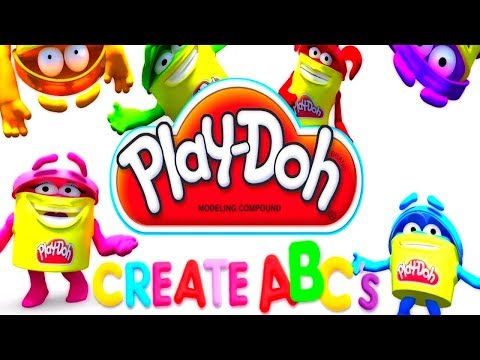 Thumbnail: Play DOH learning videos for kids - Learn abc for kids with play doh video youtube