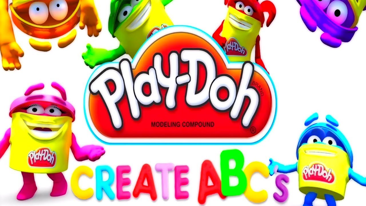 Play Doh Create ABC Alphabet Game 4 - Gameplay with Gertit