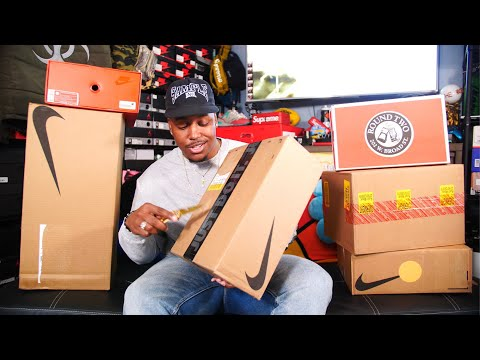UNBOXING A TON OF DOPE SH*T! MAJOR HEAT! 6 NEW SNEAKER PICKUPS & DELAYED W'S!